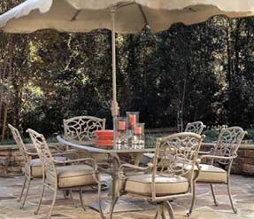 Model A54875 Aluminum Dining Set ...