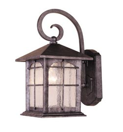 See More Outdoor Lighting. 7 In. Aged Iron Wall Latern