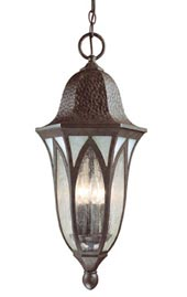 Model Y38041 PVD 11 In. Bronze Hanging Lantern